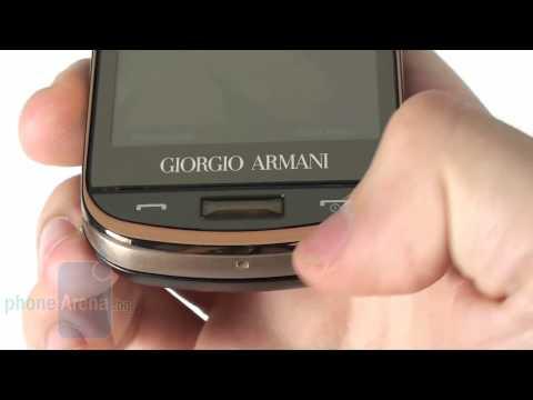Samsung Giorgio Armani Превю