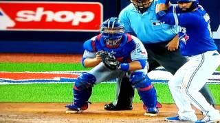 Jose Bautista hits go ahead 3-run home run G5 alds