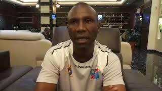 IBENGE COACHE BRISE LA GLACE À 48 HEURES DE LIBÉRIA vs RD CONGO