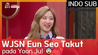 Download lagu WJSN Eun Seo Takut pada Yoon Ju! 😨 #GetItBeauty2019 🇮🇩 INDO SUB 🇮🇩
