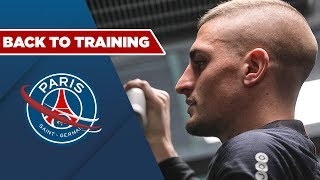 REPRISE - BACK TO TRAINING with Kylian Mbappé and Marco Verratti