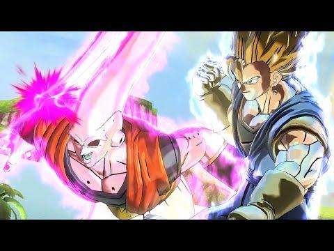 Super Vegito & Buuhan Super Ghost Kamehameha! - Dragon Ball Xenoverse 2