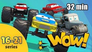 Monster Truck for Children | Cartoon Compilation | Trucks Cartoon for Kids | Compilation for Kids