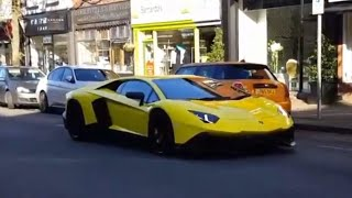 Supercars in Alderley Edge Edge, 720s, Aventador 50th and more