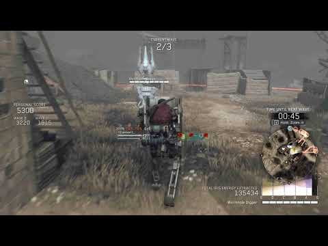Metal Gear Survive Beta | S Rank | [Wrecked Base] Normal (Solo | 242k Iris) | High Settings
