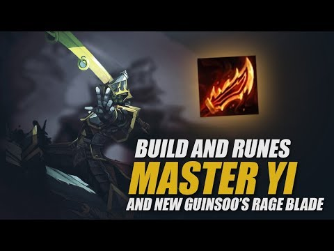 MASTER YI IN SEASON 8: Build, Runes, and new Guinsoo's Rageblade