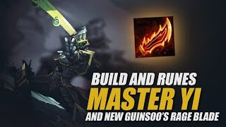 MASTER YI IN SEASON 8: Build, Runes, and new Guinsoo