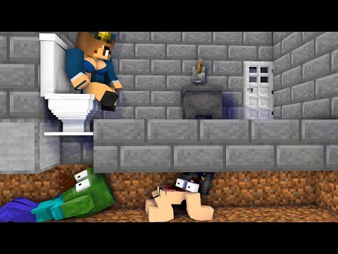 Monster School : PRISON ESCAPE CHALLENGE - Minecraft Animation