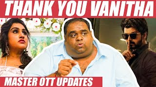 Vanitha Mass VERA LEVEL, Vijay's OTT Market Rate – Producer Ravindran Reveals