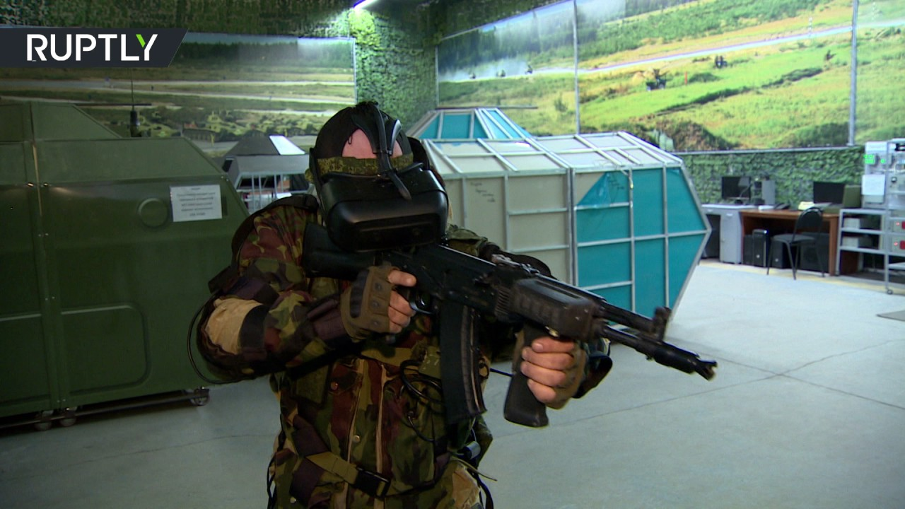 Army of gamers: Russian troops test new VR combat simulators