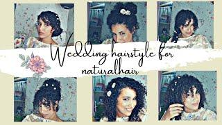 Wedding hairstyle for naturalhair 2020/Ideas/8 estilo 2 hairclip