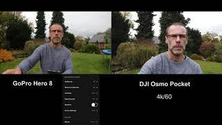Vergleich Gopro Hero 8   DJI Osmo Pocket