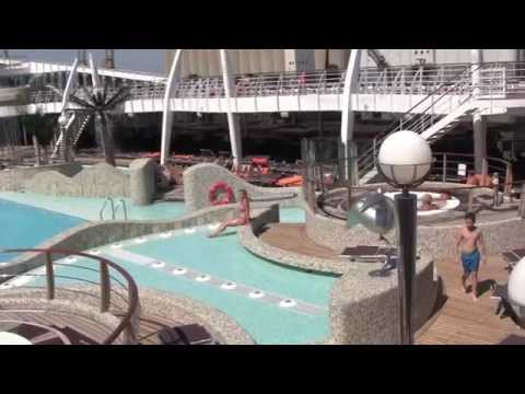 Cruise Ship Review: MSC Splendida, Western Mediterranean - July 2014