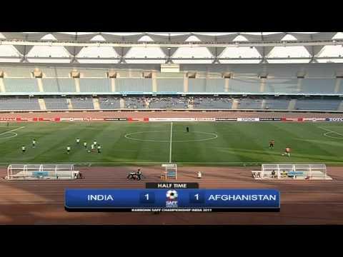 SAFF Championship India vs Afghanistan