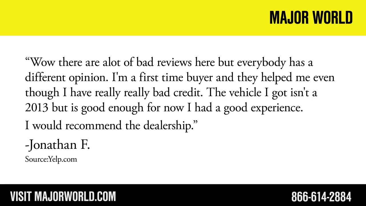 Major World Reviews >> Major World Reviews Long Island City Car Dealership