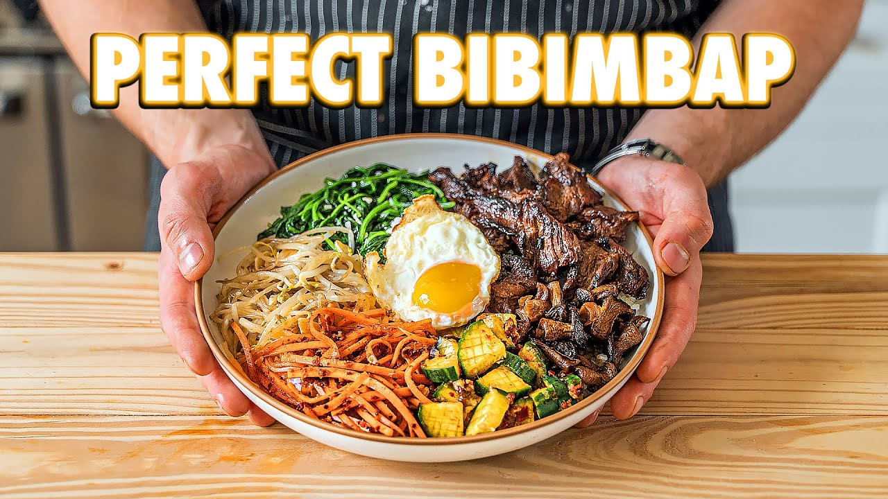 Authentic Bibimbap