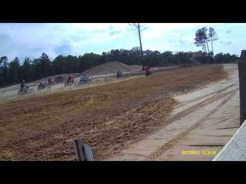 1973 Yamaha mx360 pulling hole shot , ahrma field of dreams 2017