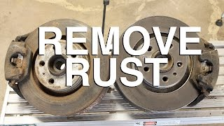 How to Remove Rust with Electricity