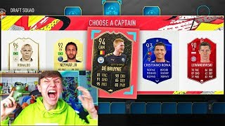 RAREST CARD IN THE HIGHEST RATED FUT DRAFT EVER!! (FIFA 20)