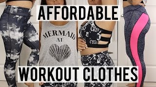 Affordable Workout Clothing Try-On Haul | Milli Moose Boutique
