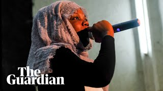 The veiled rapper breaking taboos for women in Senegal