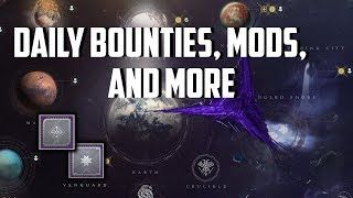 Destiny 2 - News Weekly Reset 9/11/18 New Mods, Bounties, and Places to Explore