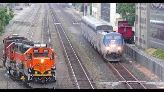 North Portal, Seattle. BNSF, Cascades, Empire Builder, and Gossip! 4K