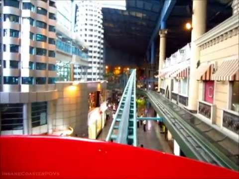 Euro Xpress Roller Coaster On-ride POV, Genting Highland Indoor Theme Park