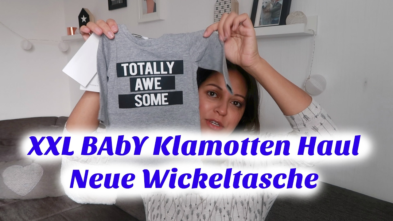 size 40 1e991 70317 XXL BABY BOY KLAMOTTEN HAUL / NEUE WICKELTASCHE / Rosislife