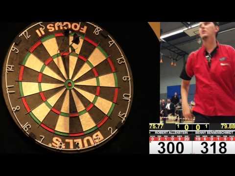 DDV Nürnberg Open 2014 - Viertelfinale: Allenstein vs  Sensenschmidt