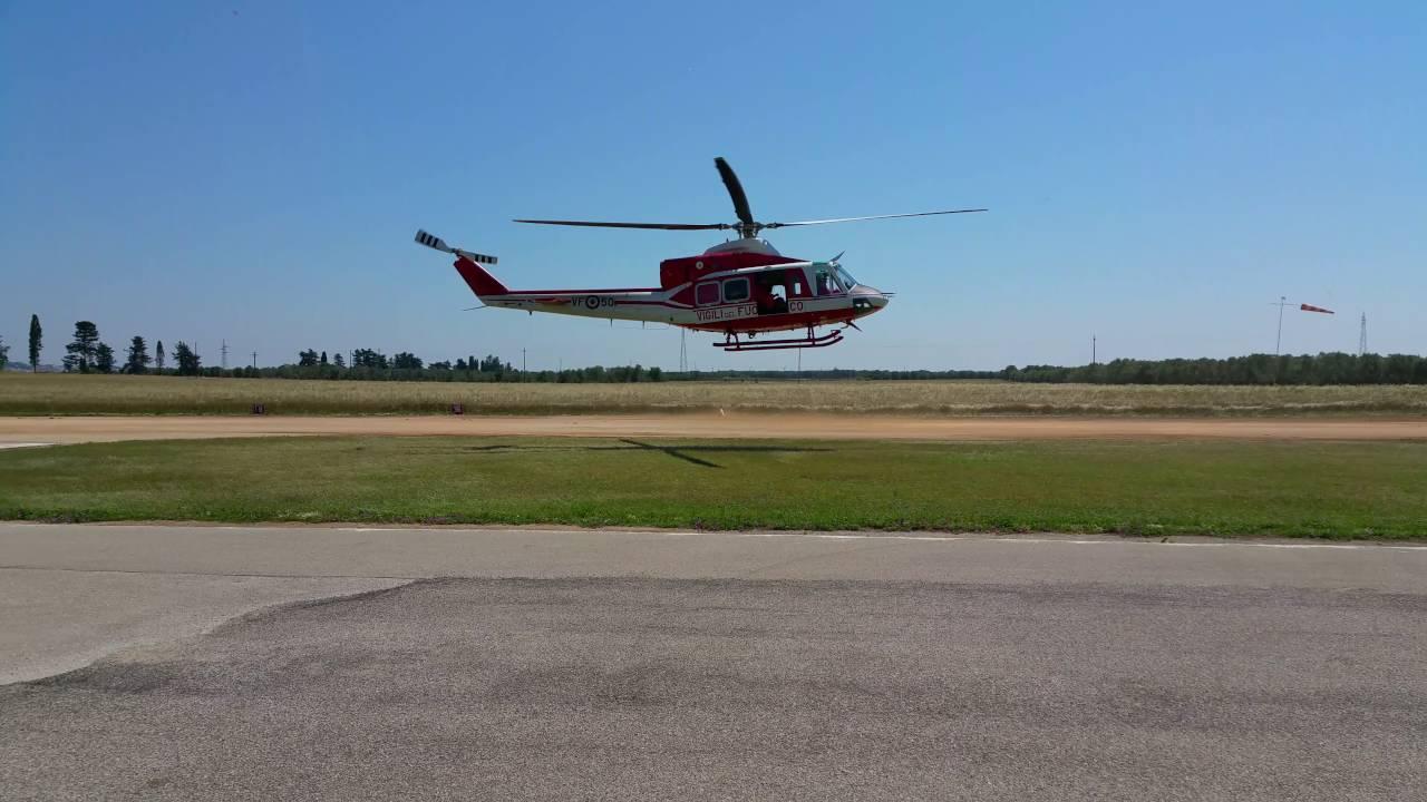 Elicottero Jet Ranger : Elicottero dei vigili del fuoco ab a oria youtube
