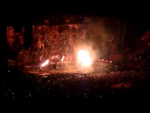 Rammstein - Bercy 6-3-2012 - Final Feuer Frei
