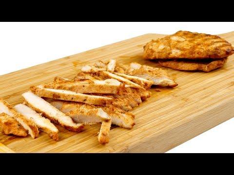 Как приготовить курицу для салатов. Подробный видео рецепт. 4к видеоиз YouTube · Длительность: 2 мин23 с