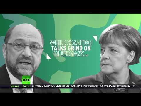 Crunch talks on German govt coalition enter final stage