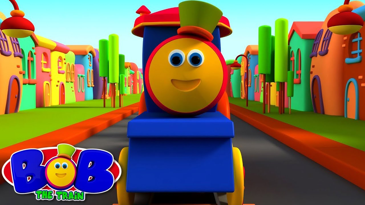 Download ABC Song | Wheels on the Bus | Nursery Rhymes & Kids Songs | Bob The Train