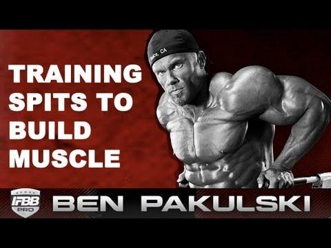 Ben Pakulski BEST Training Split For Hypertrophy (BUILD MUSCLE)