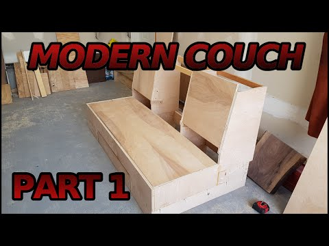 Making a Modern Couch | 1