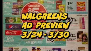 WALGREENS AD PREVIEW 3/24 - 3/30 | FREE TOOTHPASTE, CHEAP DETERGENT, HAND SOAP & MORE!