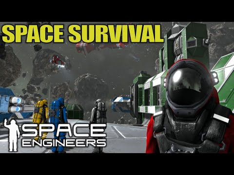 Space Survival Game Day 1   Space Engineers   Let's Play Gameplay   E01