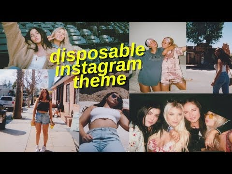 how to get the disposable effect on instagram