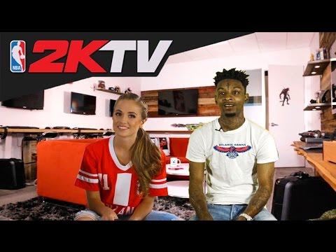 21 Savage Plays NBA 2k17 | Take Two Games Special | NBA 2kTV  Interview Parody
