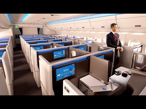 SO GOOD! Delta A350 Business Class from Detroit to Amsterdam (Delta One Suite)