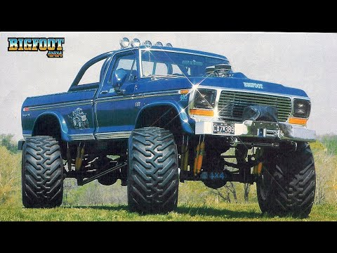 History of BIGFOOT « Bigfoot 4×4, Inc  – Monster Truck