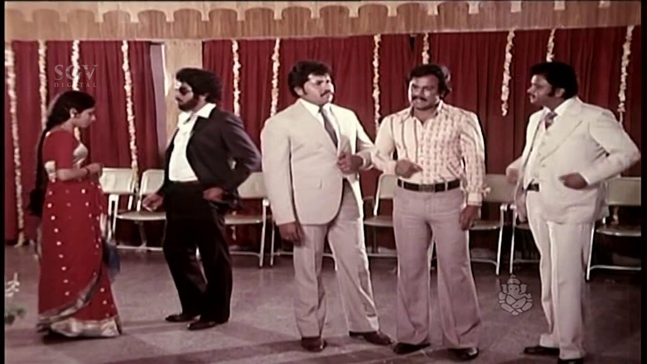 Prema Mathsara Kannada Movie | Last Climax Scene | Ambarish ...
