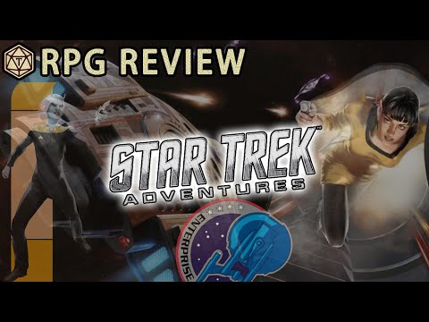 Star Trek Adventures: Are You Starfleet Material? This RPG Has The Answer 🌌 RPG Review & Mechanics