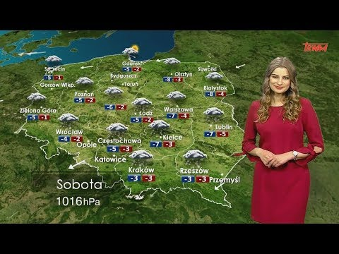 Prognoza pogody 17.03.2018
