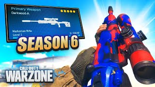 🔴 WARZONE SEASON 6 NEW SNIPER GAMEPLAY