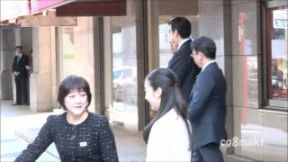 平成27年 秋篠宮佳子内親王殿下 日本橋 佳子内親王 動画 2