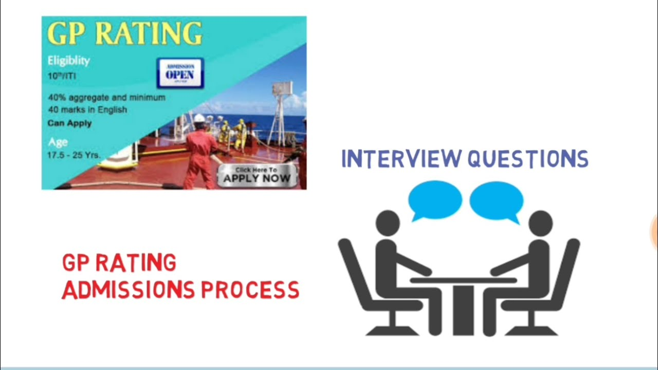 GP Rating addmission process and Questions ask in interview
