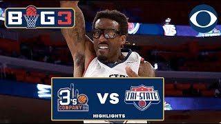 Amar'e Stoudemire throws DOWN | 3's Company earns first win | BIG 3 Highlights
